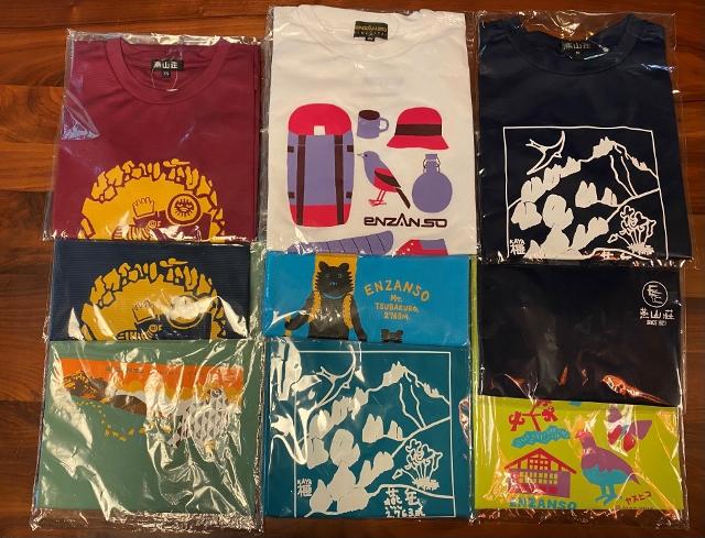 オリジナルTシャツ各種
